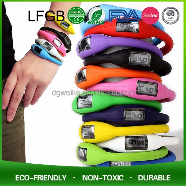 New Arrival Promotion Cheap Silicone Led Watch