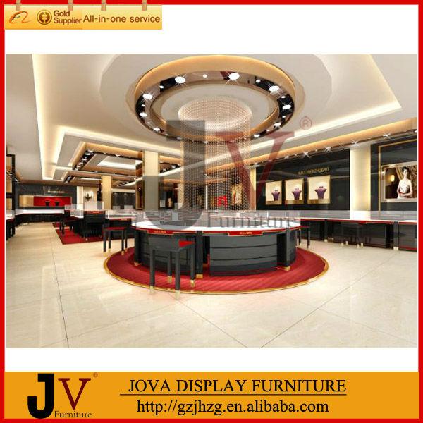 indian style jewellery showroom interior display jewellery showroom ...