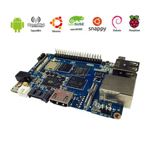 Octa core SBC Banana Pi BPI-M3 supports WIFI and SATA port runs Android,linux is much better than Orange PI.