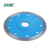 Hot pressed sintered mesh turbo diamond laser saw blade for marble Tile Porcelain, circular diamond cutting disc