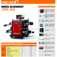 Bluetooth sensor launch wheel alignment machine for workshop