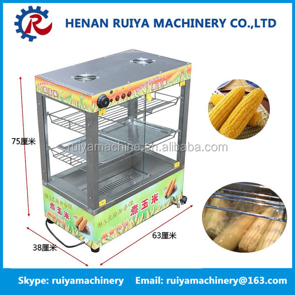 hot sale commercial electric sweet potato and corn poached machine