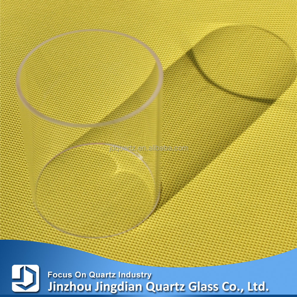 Clear heat-resistant quartz glass tube for UV Ultraviolet lamps