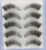 Hot selling natural looking 5 pairs/pack synthetic hair eyelashes with best price