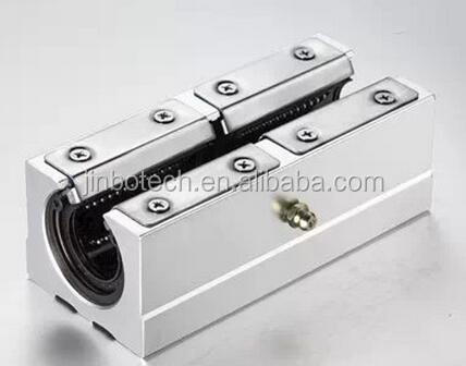 Aluminium Linear Silder Rail Linear Slider CNC For Machine Parts SCE20S-UU