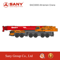 SANY SAC3000 300Tons New Technology Hydraulic Crane of Hydraulic Crane(Telescopic Boom)