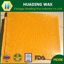 food grade pure beeswax for food coating and packing