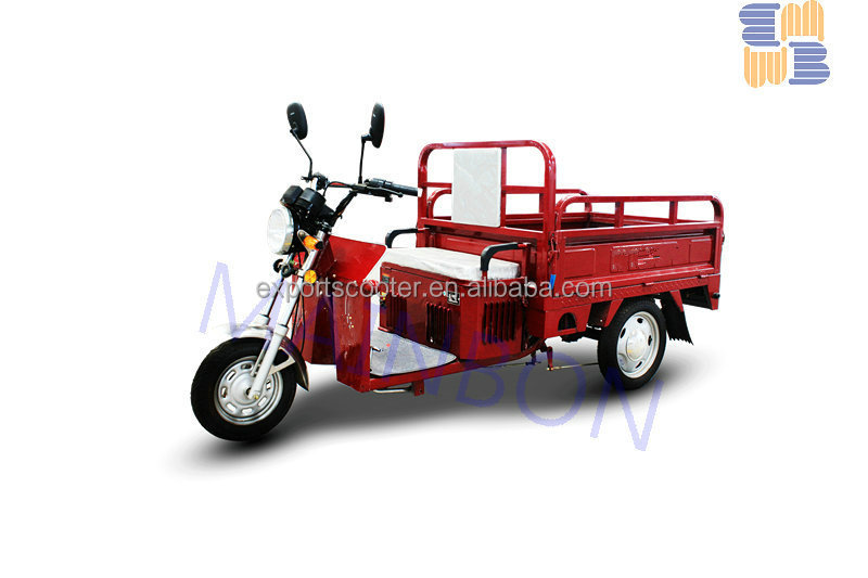 Popular hydraulic cargo tricycle cabin cargo tricycle three wheeler