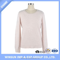 Competitive Price Custom Latest Design Knit Lady Sweater For Spring