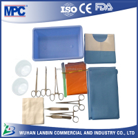 minor surgery hospital emergency surgery set CE ISO disposable military survival kit