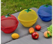 Beautiful Color Fruit Vegetable Picking Basket with Cover