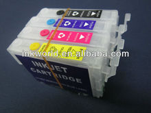 High quality refillable ink cartridge for epson t10/ t11/ t13
