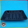 Disposable Plastic Black Soft Food Tray