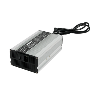 24v 18a Lithium/Lifepo4/LFP car Battery Charger Aluminium case with fan cooling