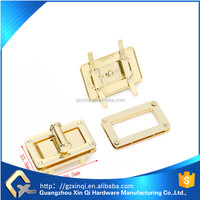 zinc alloy material lock style bag accessoires twist lock for bag