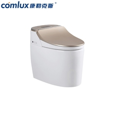 Modern european style sanitary ware one piece porcelain wc intelligent toilet