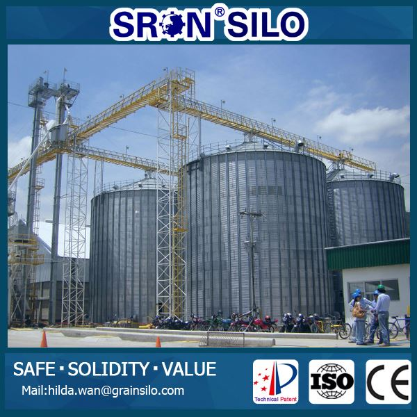China Leading Grain Storage Silo Manufacturers, Customized 30-15000ton Grain Silo