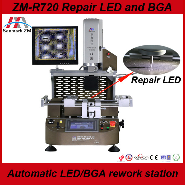2015 New product automatic LED/LCD BGA rework station ZM-R720 BGA repair machine 100% Original