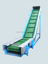 Plast Link High efficiency waste paper fish processing incline conveyor