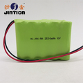 Rechargeable Battery Packs Ni-MH AA 2500mAh 6.0v