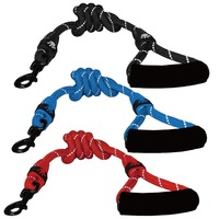 Rope Dog Leash and Collar, Nylon Rope leashes and harness