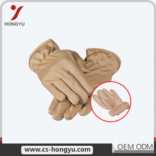 Multifunctional good price worm for working waterproof winter leather gloves