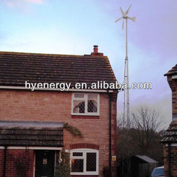3kw wind turbine generator on-grid system for residential use home use