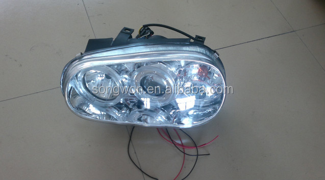 high quality for golf 4 front lamp/golf IV headlights/lamps