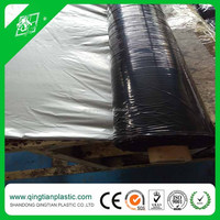 vegetable planting black/silver mulch film with high quality