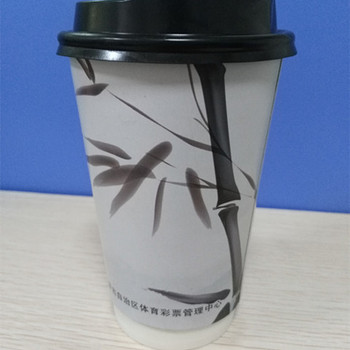 12oz 330ml take away custom printed double paper cups