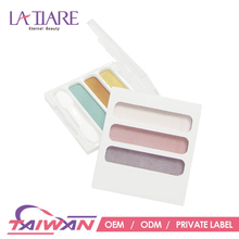 Private label shining eye shadow palette