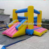 inflatable kids jumper with small slide