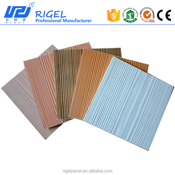 RIGEL 100% Non-asbestos wood-like for wall panel outdoor with calcium silicate