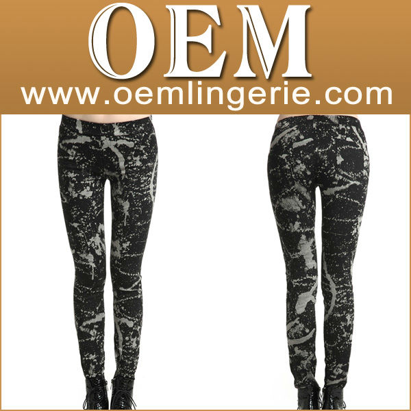 Direct Manufacturer Fashion Customized Leggings, Jegging, legin, Sex Jeans Legging Pants Jeans