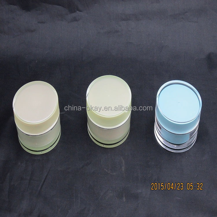 Natural cosmetic packaging/Acrylic Plastic Type Right-Angled packaging jar