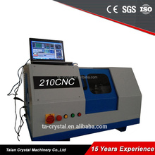 small hobby metal cnc lathe for sale CWK200S