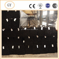 square plated hollow strong crc mild carbon steel tube