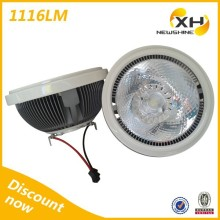 Europe popular Beam Angle 15 Degrees High Power LED Ar111 G53 220V