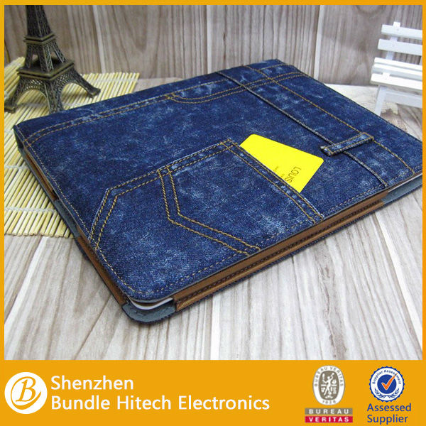 For ipad jeans case,for ipad pocket bag case