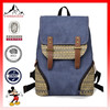 Women girls backpack canvas bag schoolbag rucksack shoulder travel bag satchel stock school bag(ES-H184)