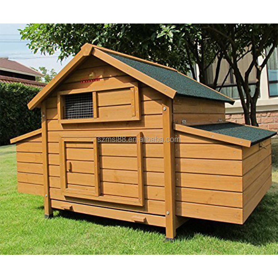 OEM design wholesale waterproof cheap chicken coop wooden