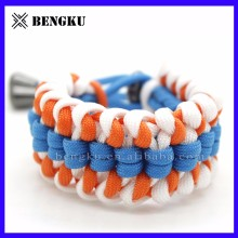 wholesale accessories nfl paracord bracelet