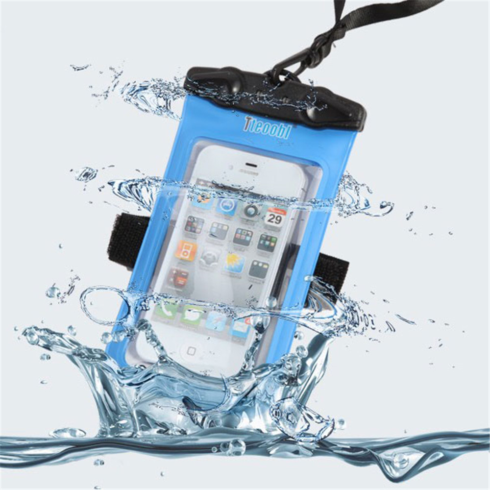 High quality Clear Waterproof Pouch Bag Dry Case Cover For All Cell Phone Camera Mobile phone waterproof bag