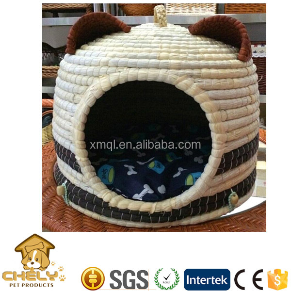 Wholesale rattan pet house,cat bed,wicker dog bed