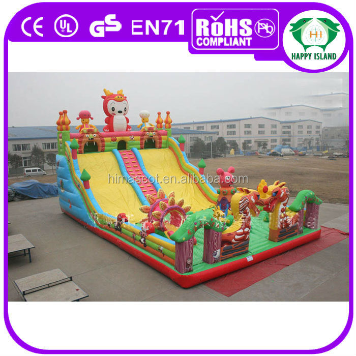 HI EN14960 Popular Playing Kids Giant Inflatable Playgrounds on Sale