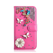 New Flip Cover Wallet Diamond Case Card Pouch Colorful Cover For Samsung Galaxy C9 pro