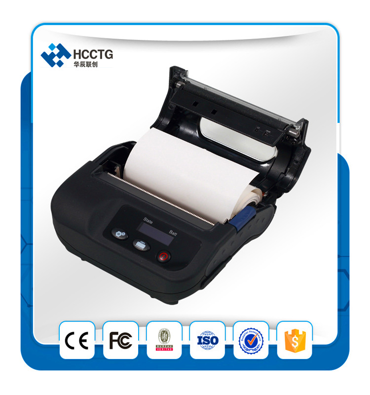 Cina 80mm 3 ''Ponsel Portabel Super Baterai Bluetooth Barcode Thermal Printer HCC-L31