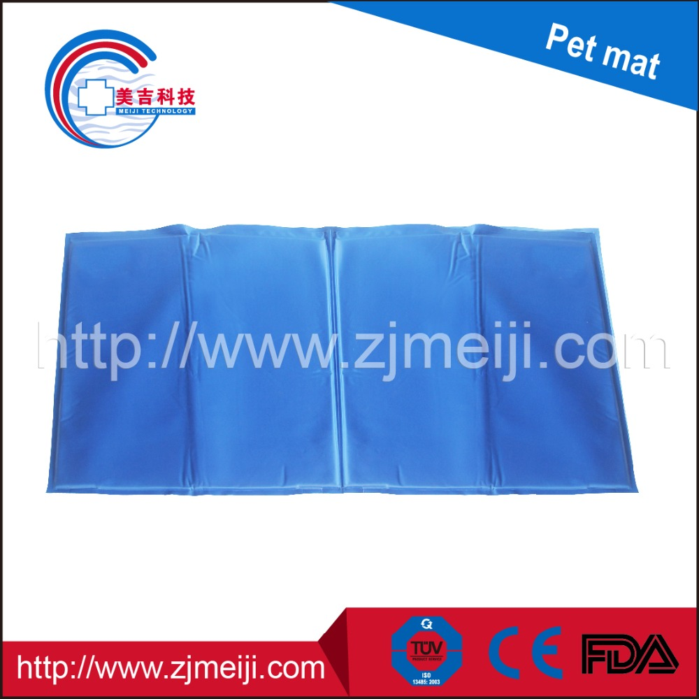 Factory direct sale re-useable gel self cooling pet pad/cool bed for pets/cooling pad pet