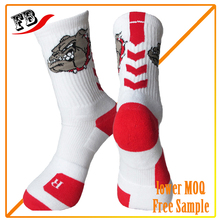 fashion best sell men tube custom elite basketball socks
