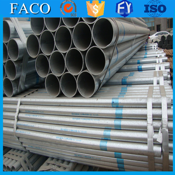 steel structure building materials ! zinc metal properties manufacture galvanized pipe for construction